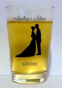 Copos de Cerveja Caldereta para Casamento