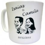 Canecas de Café Personalizadas canecas de cafe isaias camila 150x150