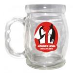 Canecas Personalizadas lembrancinhas de casamento canecas de vidro alexandre e Luciana 150x150