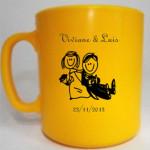 Canecas de Café Personalizadas canecas de cafe viviane e luis 150x150