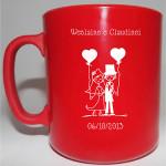 Canecas de Café Personalizadas canecas de cafe weslaine e claudinei 150x150