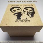 Caixas de MDF caixa bem casado n1 lembrancinhas 150x150